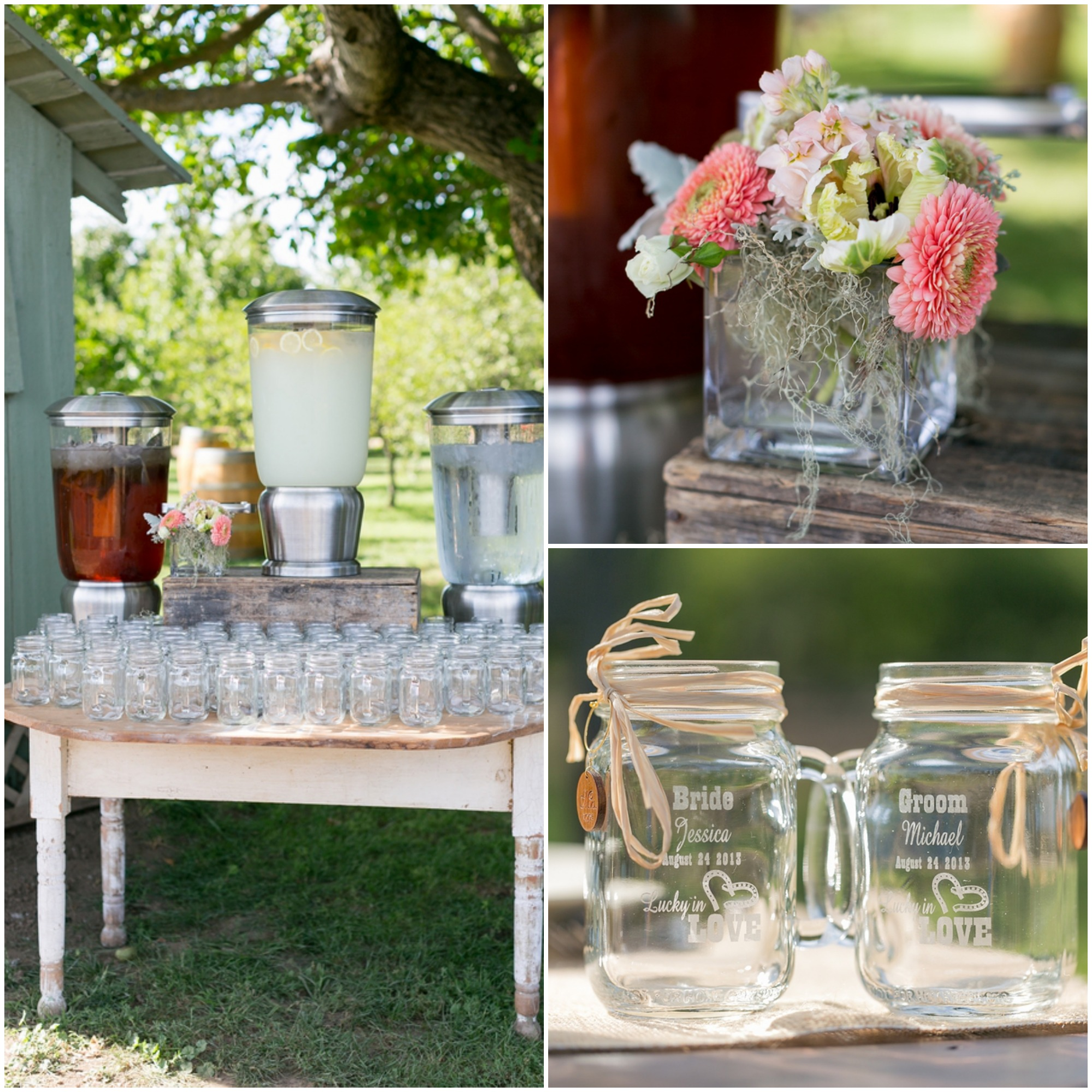 A Surprise Wedding At The Bride S Rose Farm In California: Rustic Wedding Chic