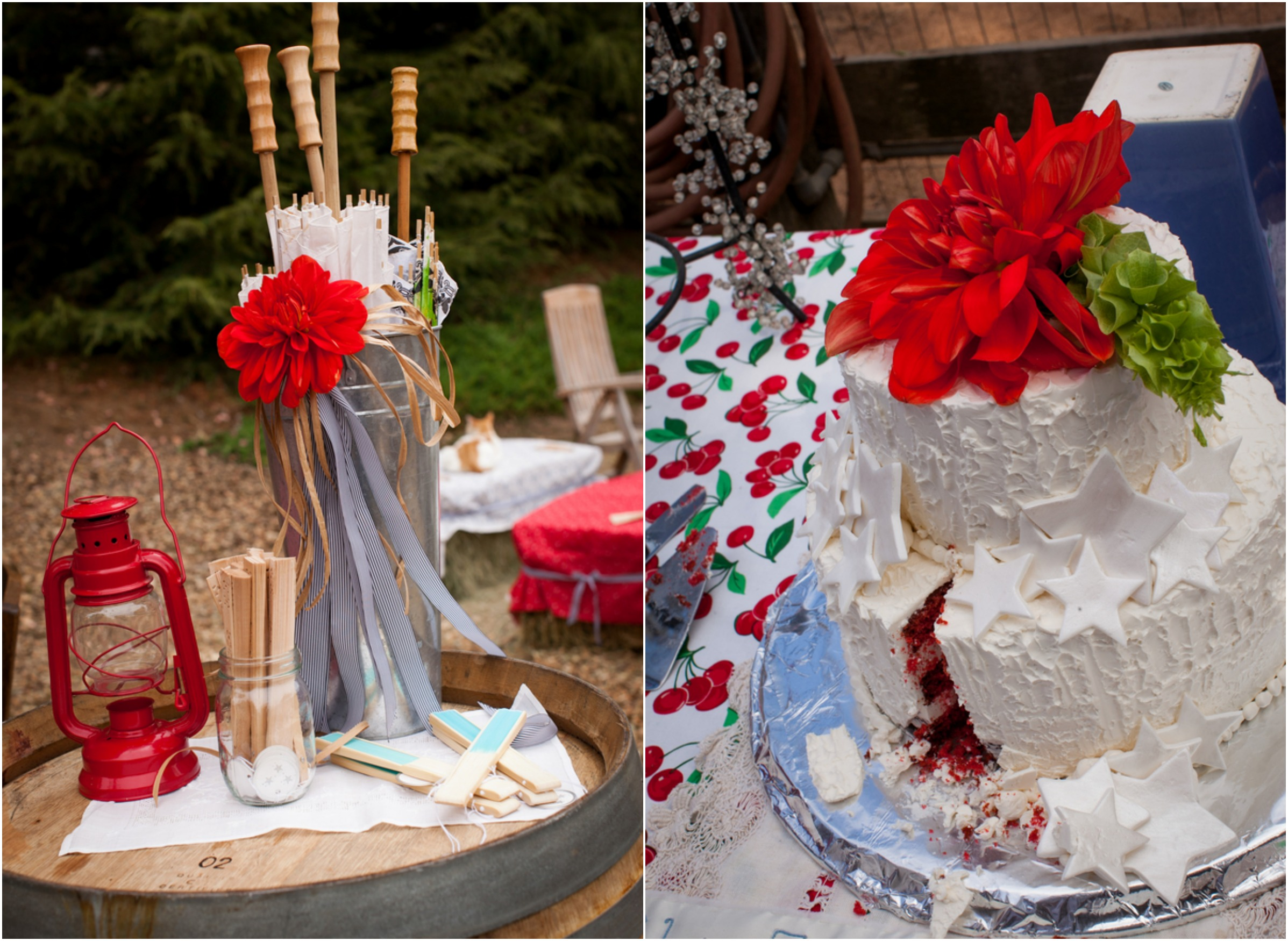 red white blue fourth of july wedding rustic wedding chic. Black Bedroom Furniture Sets. Home Design Ideas