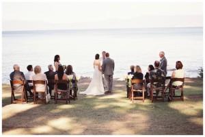 Lakeside Wedding in Tahoe