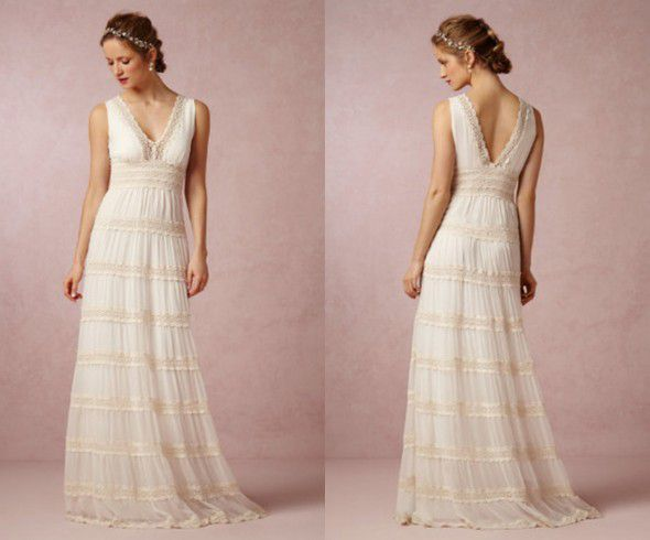 Dress For Backyard Wedding wedding dresses for a backyard wedding - rustic wedding chic