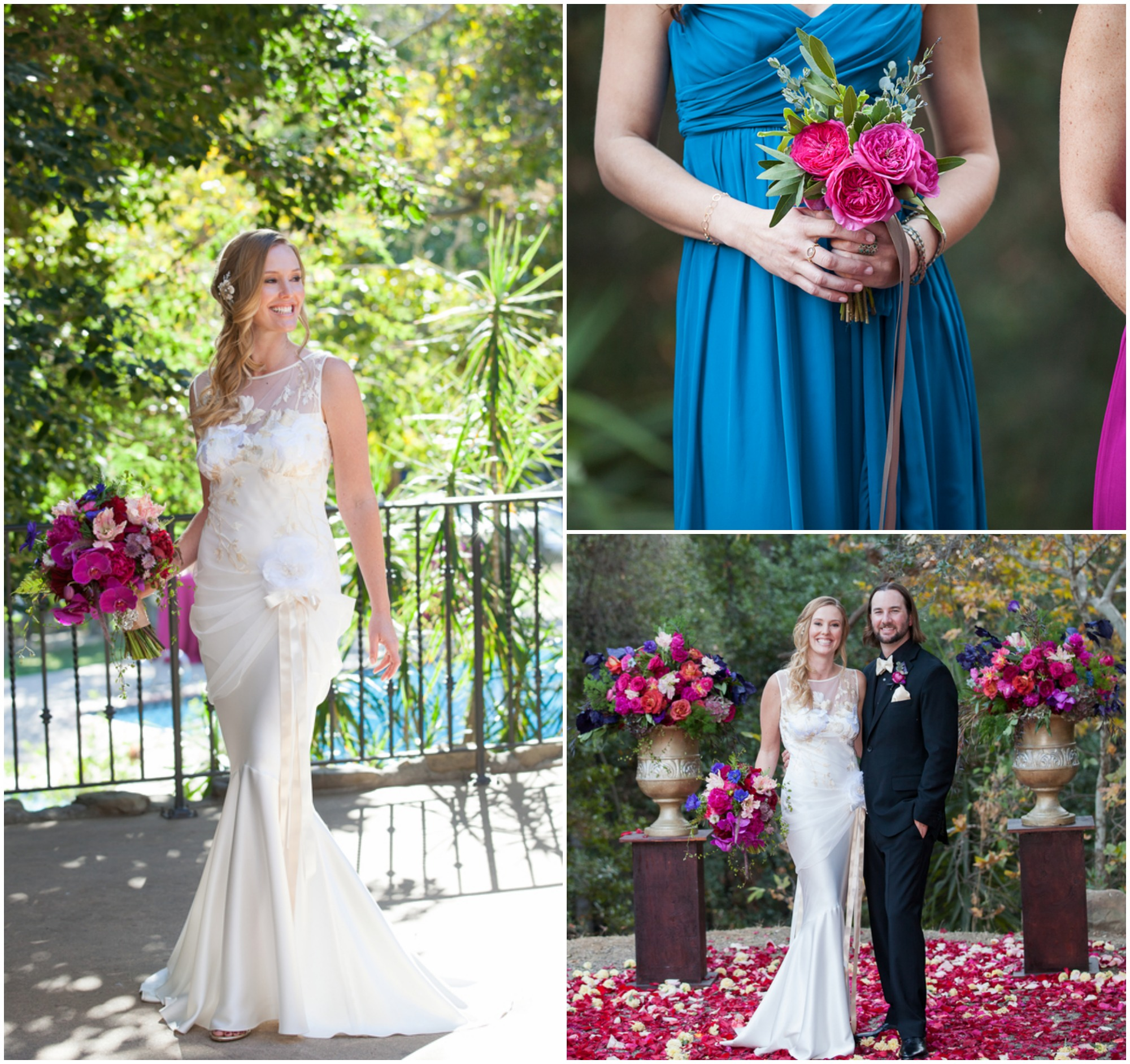 Wedding Colors: California Ranch Wedding With Rich Colors- Rustic Wedding Chic