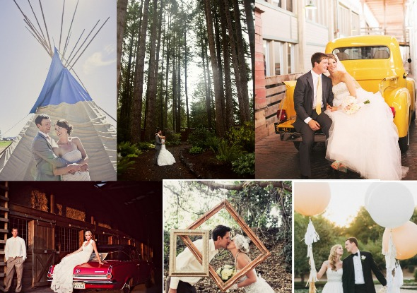10 Wedding Photo Prop Ideas