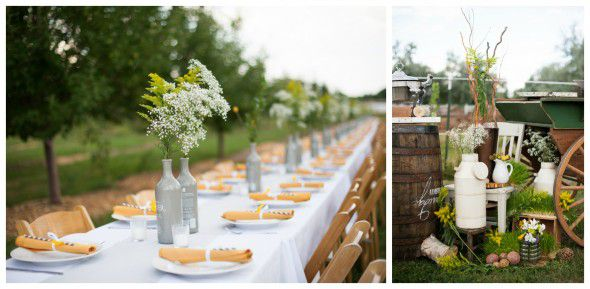 Casual Chic Barn Wedding