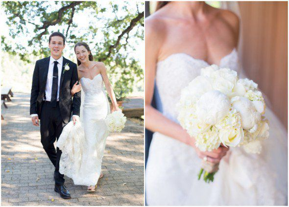 The all white wedding bouquet rustic wedding chic the all white wedding bouquet junglespirit Images