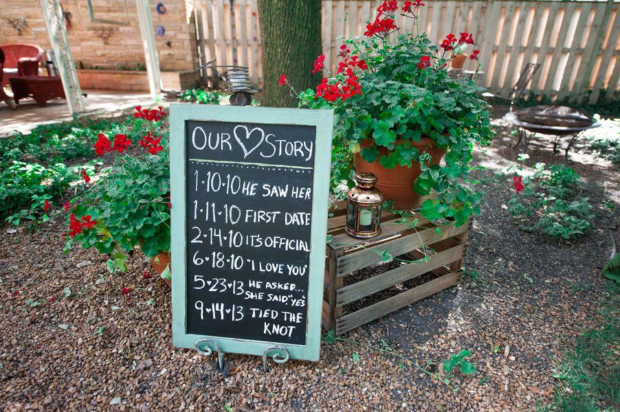 Backyard Wedding Ideas fall backyard budget wedding - rustic wedding chic
