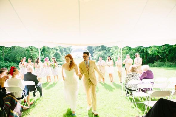 Hudson River Valley Outdoor Wedding