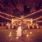 Charleston outdoor wedding reception