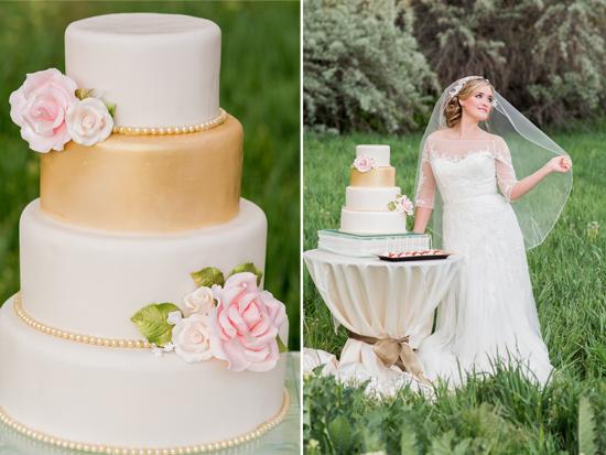 Elegant Pink & Gold Wedding Theme