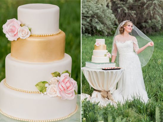 olive green and gold wedding cake pink amp gold wedding theme rustic wedding chic 17999