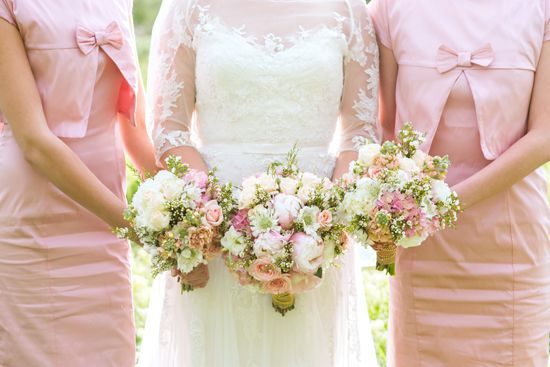 Elegant Pink Gold Wedding Theme Rustic Wedding Chic