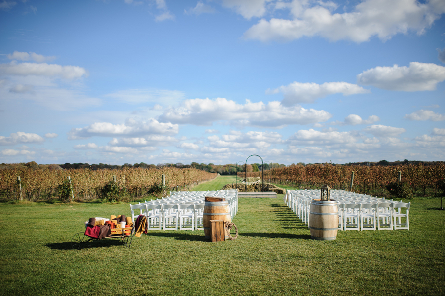 East Coast Vineyard Ceremony Location