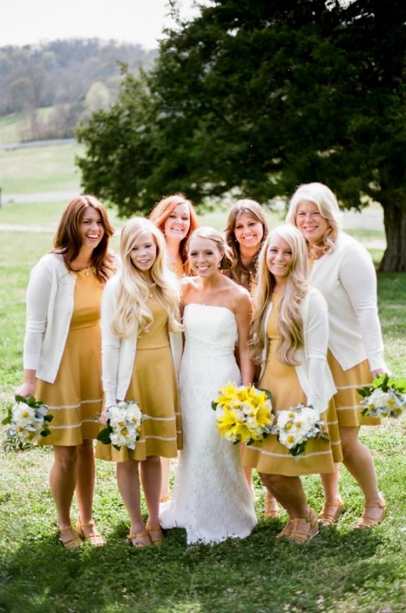 Yellow Amp Gray Wedding Rustic Wedding Chic