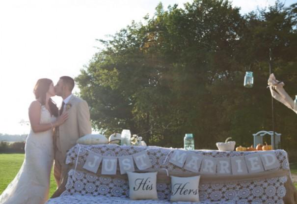 Autumn Country Wedding: Jonnie + Justin