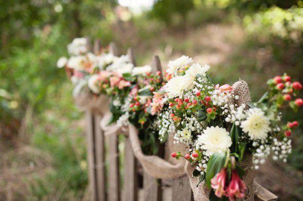 Farm Wedding Flowers