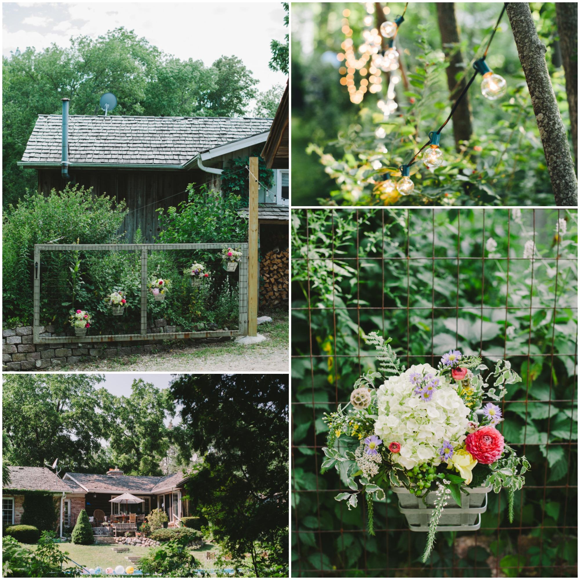Backyard Country Wedding Ideas: A Vintage Style Backyard Wedding