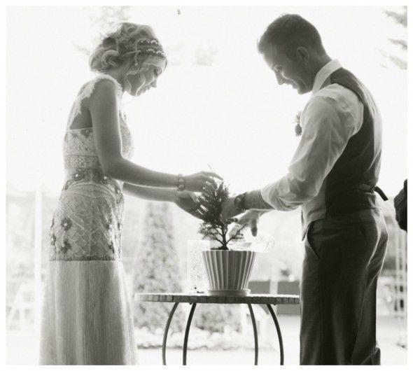 Bohemian Inspired California Wedding At Holly Farm: Rustic Wedding Chic