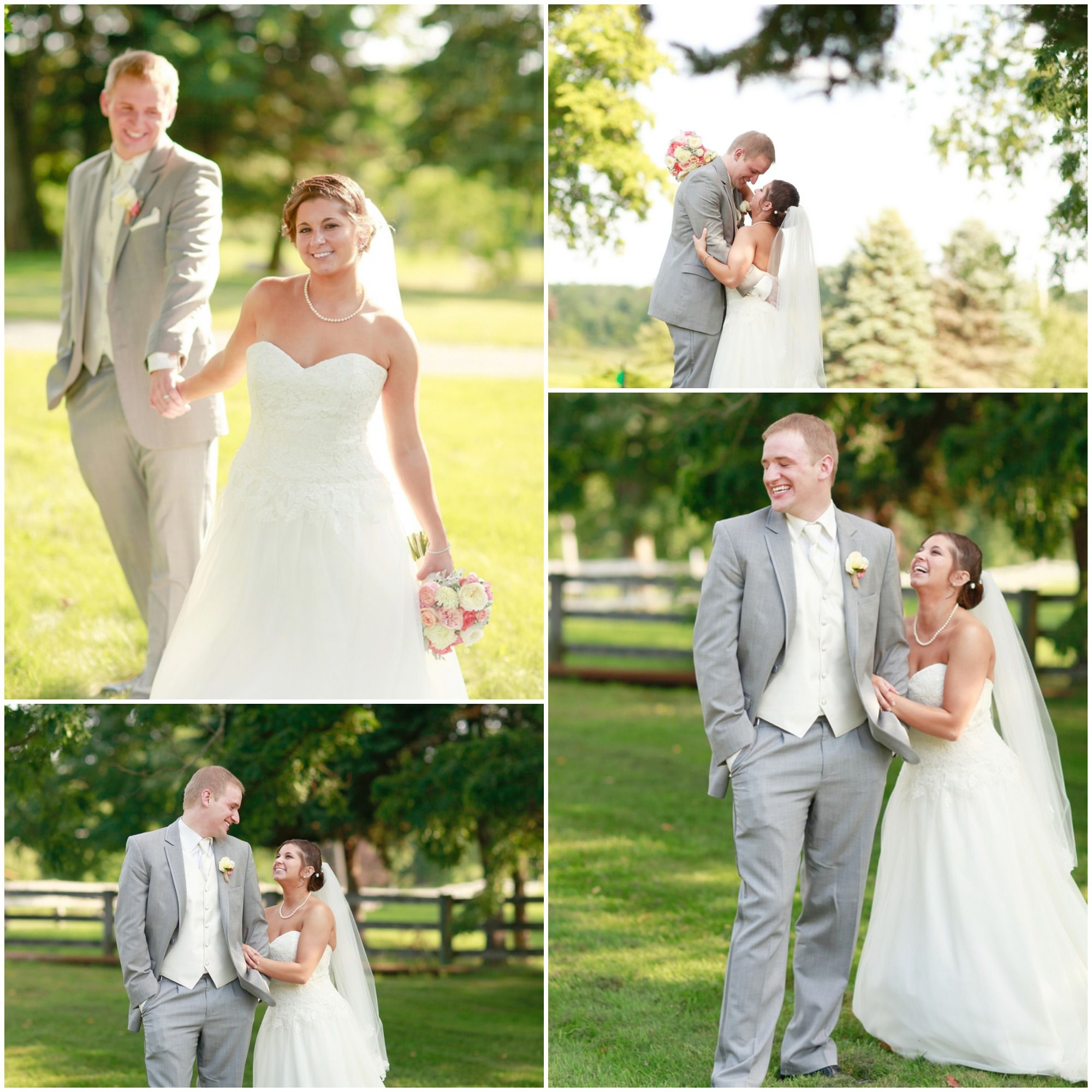 An Ohio Farm Wedding Reception Rustic Wedding Chic