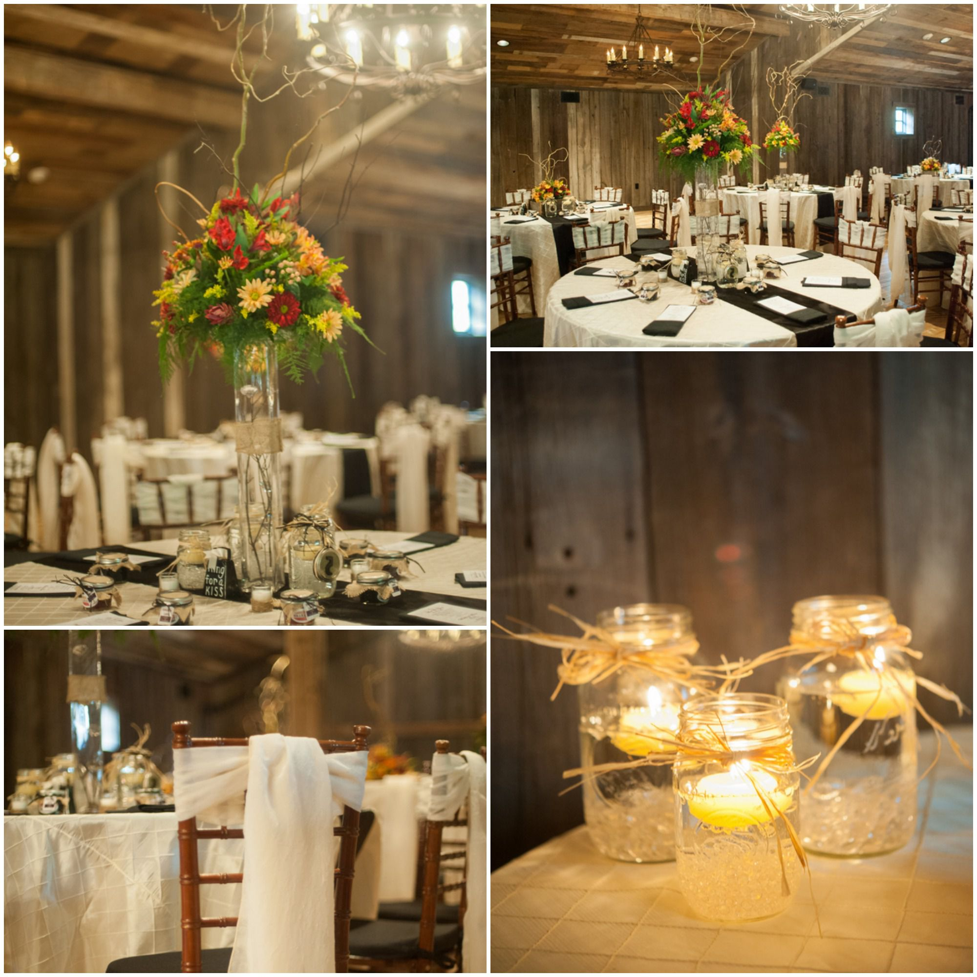 Rustic chapel wedding chic