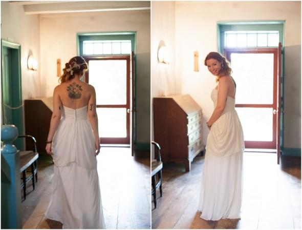Rustic Hudson Valley River Wedding Bride