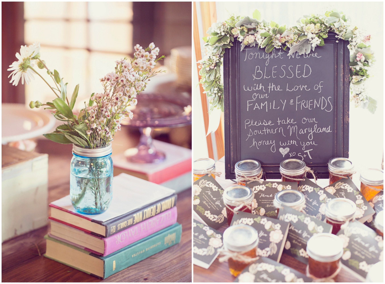 Wedding Ideas Using Mason Jars: Oceanside Rhode Island Wedding