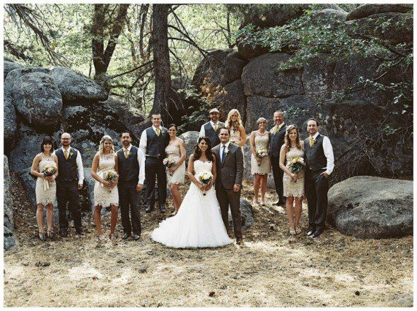 Monochromatic Wedding Palate : Neutrals