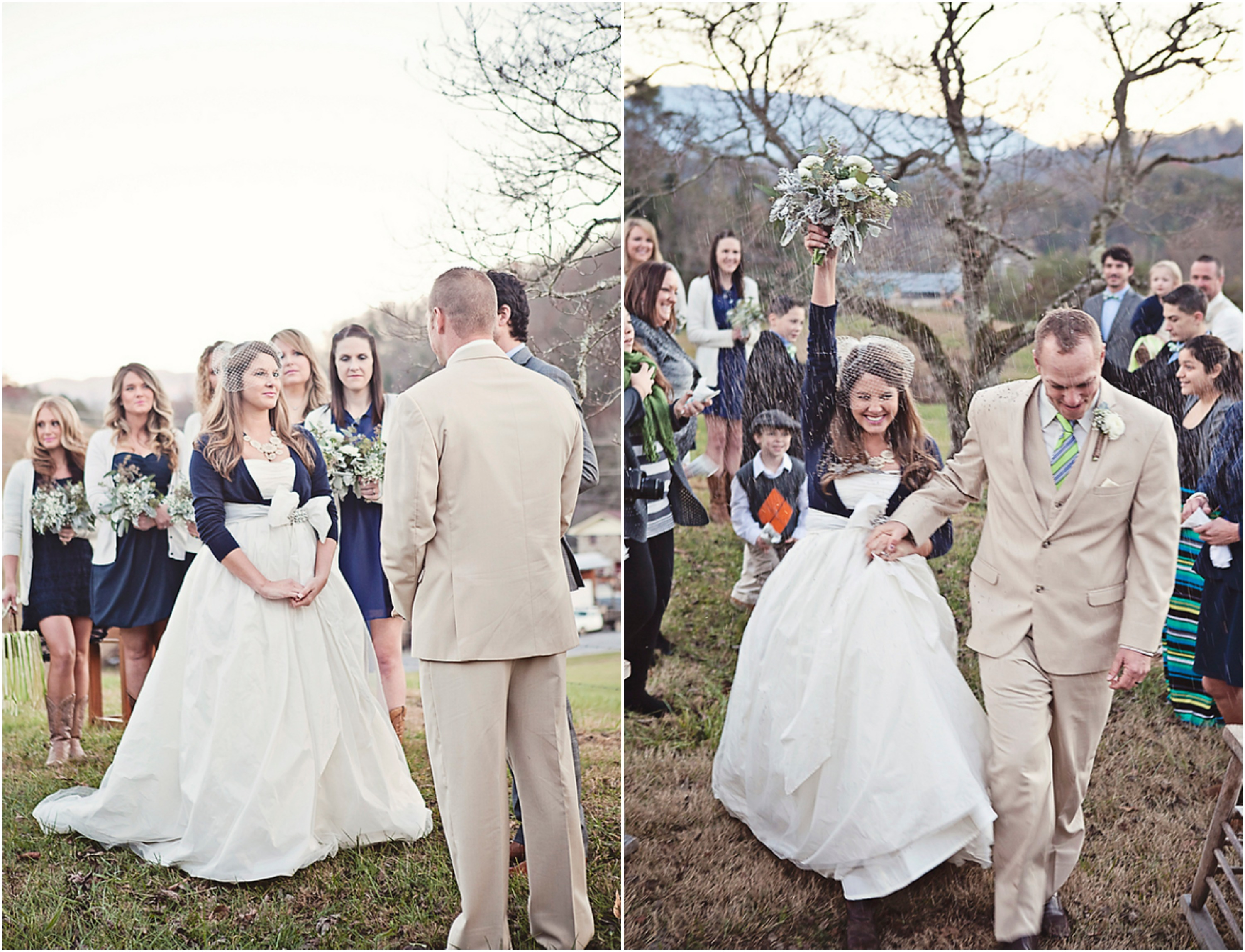 Outdoor Wedding: Outdoor Country Wedding Ceremony