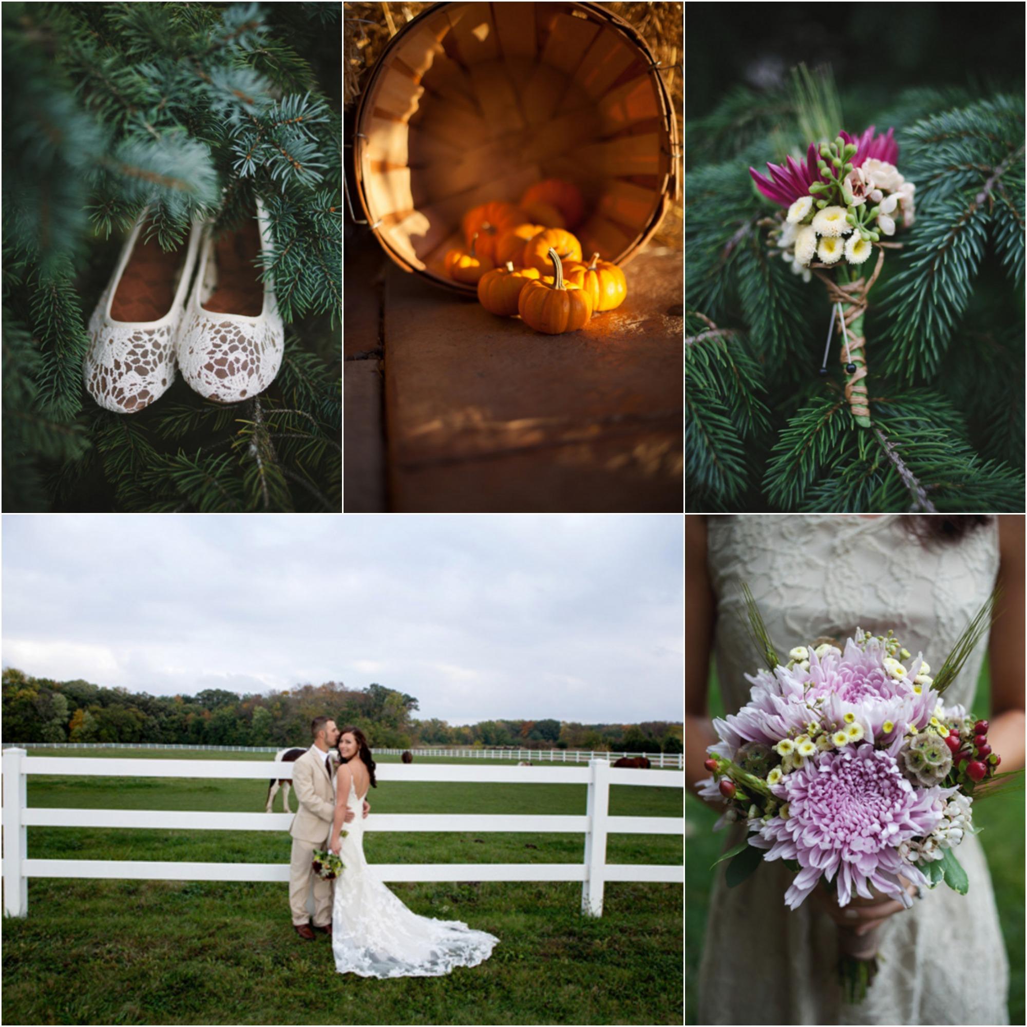 Autumn Country Farm Wedding