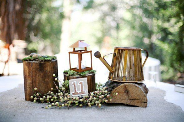 Non-Floral Wedding Centerpieces