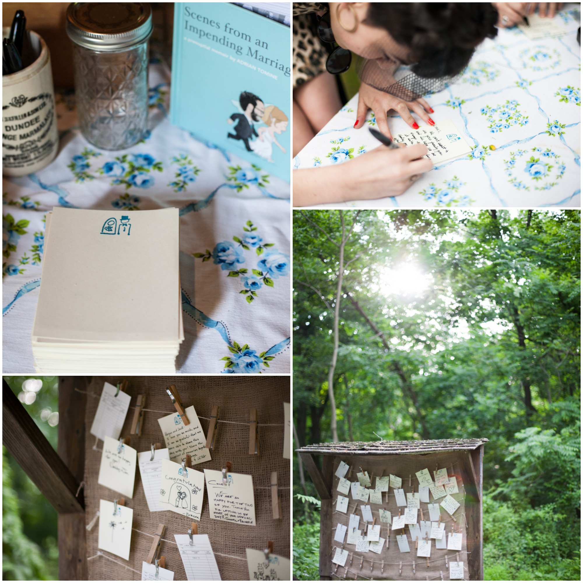 Fraser Valley Wedding Rustic Decorations: Hudson River Valley Barn Wedding