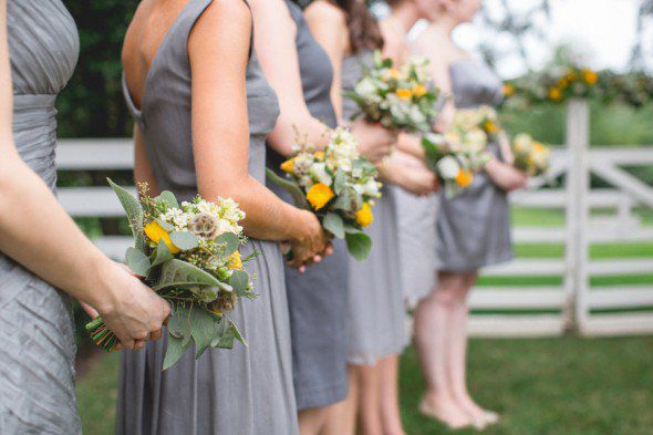 Grey & Gold Wedding Inspiration