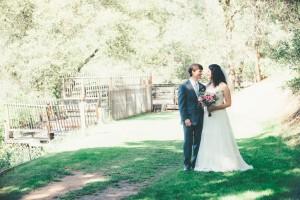 Country Wedding Bride + Groom