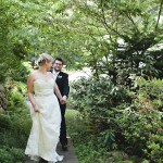 Garden Wedding Bride + Groom