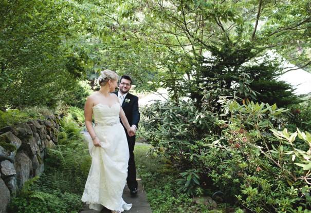 A Summer Garden Wedding: Laura + Danny
