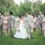 Horse Farm Wedding Party