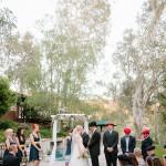 Outdoor Ranch Wedding Ceremony