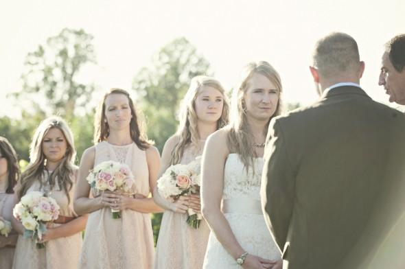 Vineyard Outdoor Wedding Ceremony