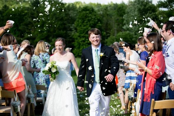Outdoors Farm Wedding