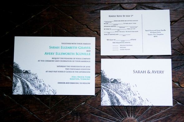 Farm Wedding Invitation