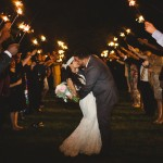 Southern Vineyard Wedding Sparklers