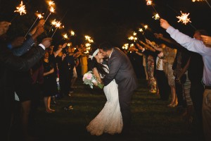 Southern Vineyard Wedding Sparklers