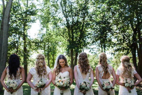 Country Bridesmaids