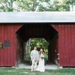 Farm Wedding With Barn