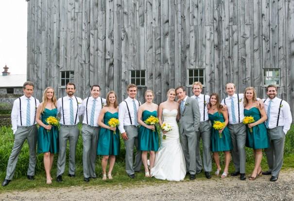 A New Hampshire Country Inn Wedding: Abbi + John