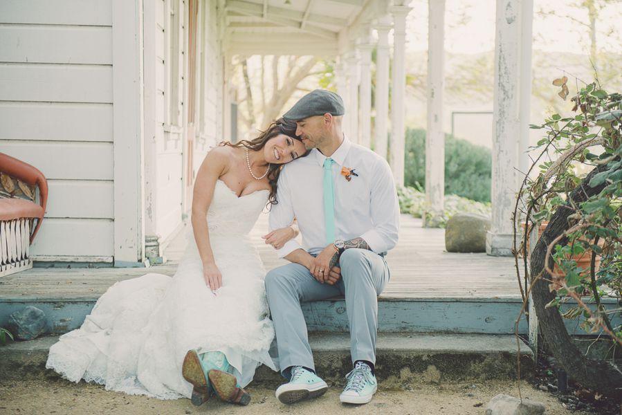 Ranch Wedding Bride + Groom