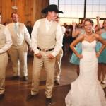 Barn Wedding Reception Dancing