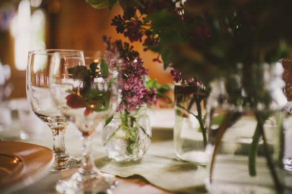 Barn Wedding Reception Flowers
