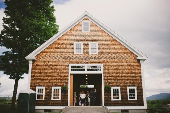 Country Barn Wedding Reception