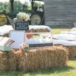 Barn Wedding Outdoor Ceremony
