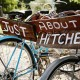 Wedding Signs On Bike