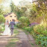 Bride + Groom Outdoor Wedding Reception
